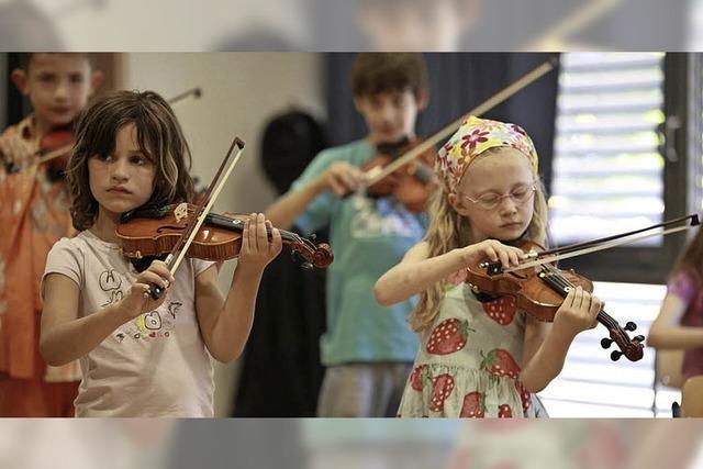 Jugendmusikschule ist gut verankert