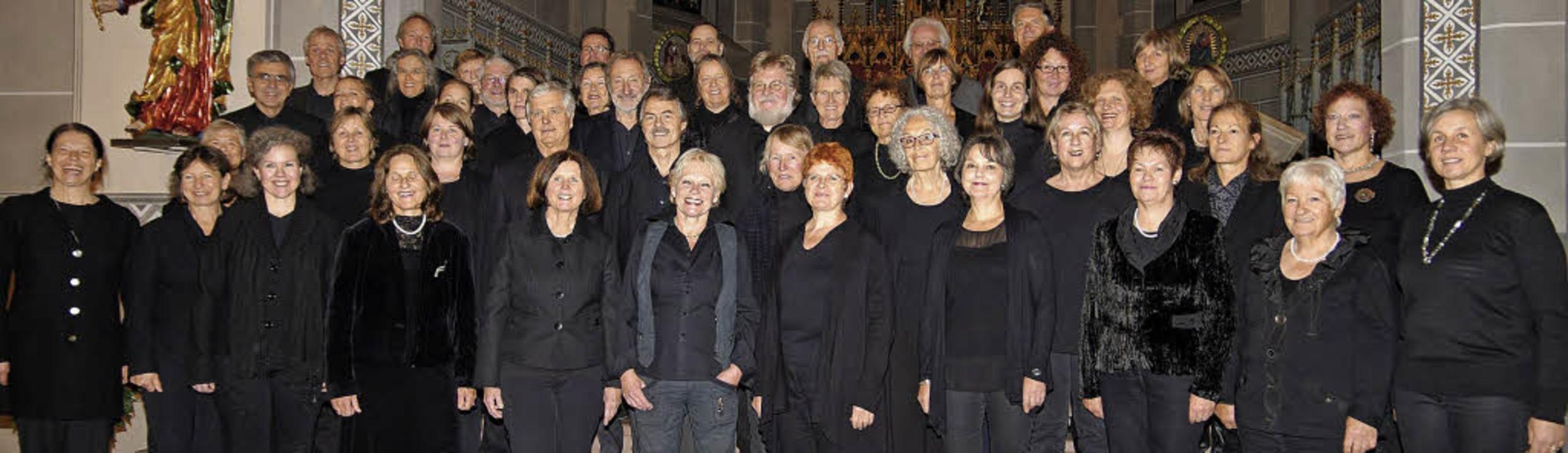 Der Staufener Kammerchor ist einer von...en Chören, die Kerstin Bögner leitet.     Foto: Privat/Gabriele Hennicke
