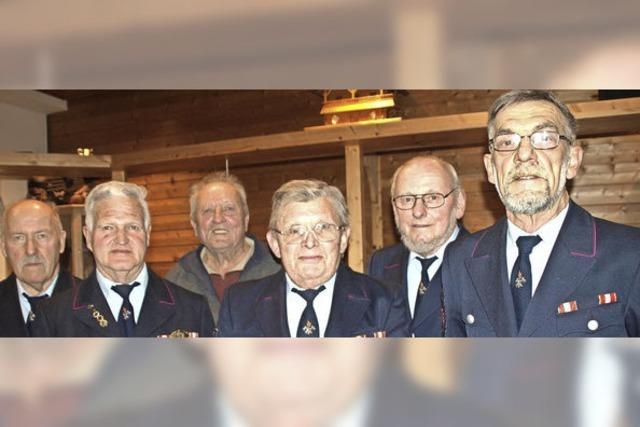 Fünfzig Jahre aktiv bei der Feuerwehr