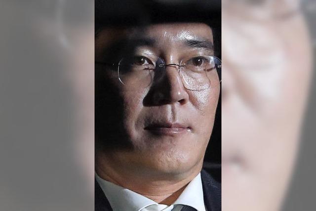 Der Samsung-Erbe muss mit einer Gefängniszelle vorliebnehmen