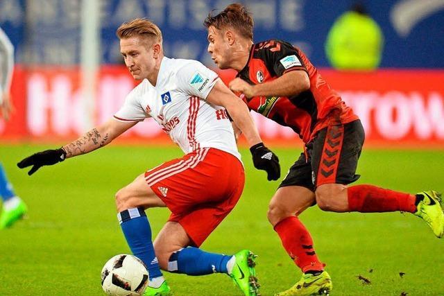 SC Freiburg spielt Unentschieden in Hamburg
