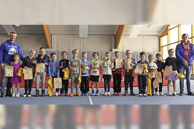 Für einige Kinder war es das allererste Turnier