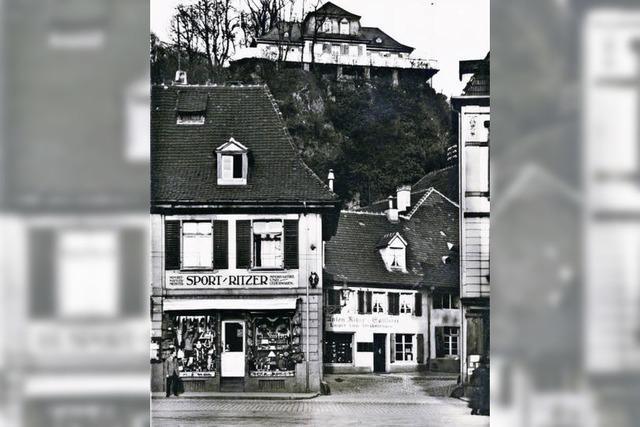 Fast 100 Jahre lang bestand beim Schwabentor die Sattlerei Ritzer