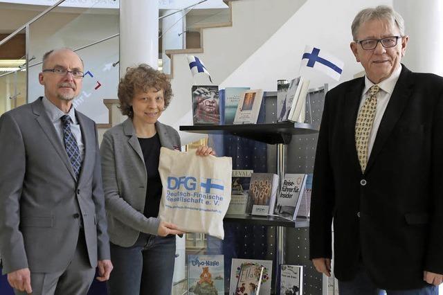 Finnland verschenkt Bücher