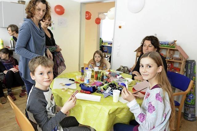 Das Kinderfördernetz der Caritas an der Klarastraße öffnete seine Türen