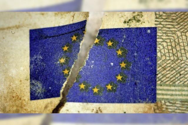 Ein Riss geht durch Euroland