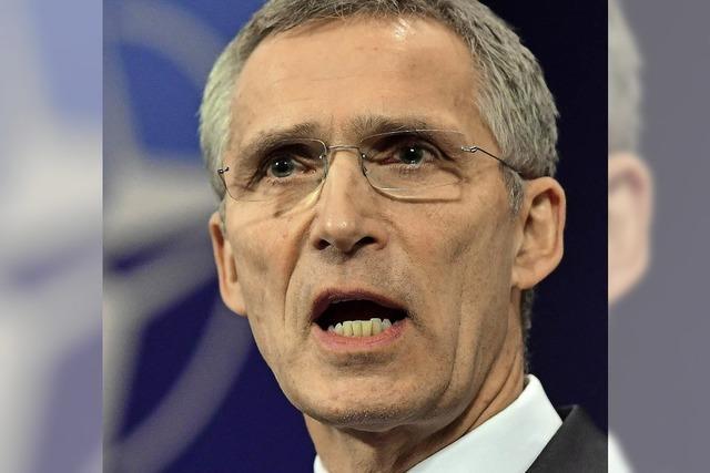"""Nato-Generalsekretär Jens Stoltenberg: """"Die USA kommen gerade nach Europa zurück"""""""