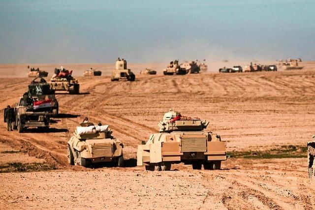 Irakische Armee will Mossul befreien