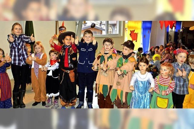 Buntes Kinderspektakel