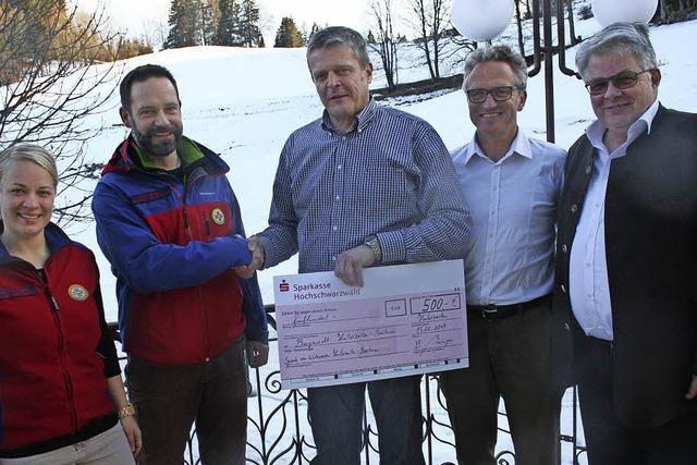 500 Euro für die Bergwacht