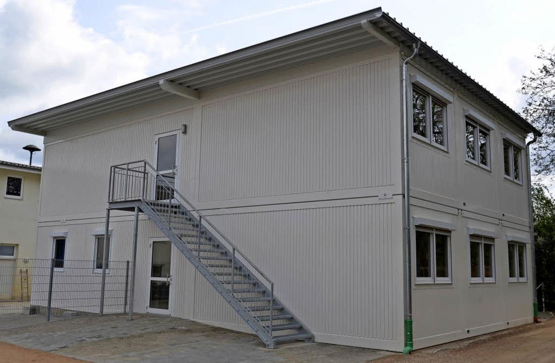 Die  Asylbewerberunterkunft  an der Br...n könnte künftig enger belegt werden.   | Foto: Michael Behrendt