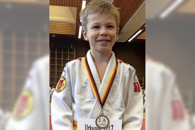 Judoka Leon Stang ist südbadischer Meister