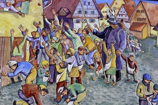 Morgen ist Storchentag in Haslach