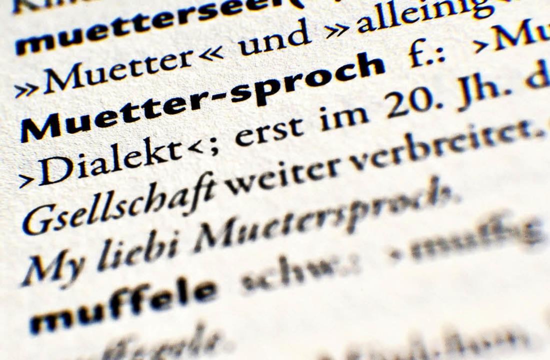 Heute ist der internationale Tag der Muttersprache.    | Foto: dpa
