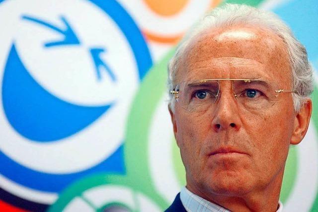 Konto in Gibraltar? Beckenbauer erneut in Bedrängnis