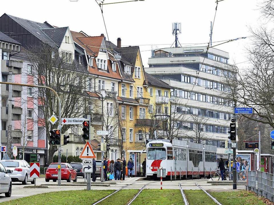 Um den Nahverkehrsanteil zu steigern, müsste Freiburg Takt und Dichte erhöhen.  | Foto: Ingo Schneider