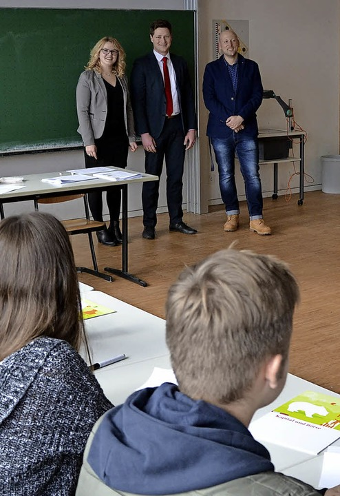<BZ-FotoAnlauf>Oberrhein-gymnasium:</B... Wirtschaft, in der Kursstufe des OGW     Foto: zVg