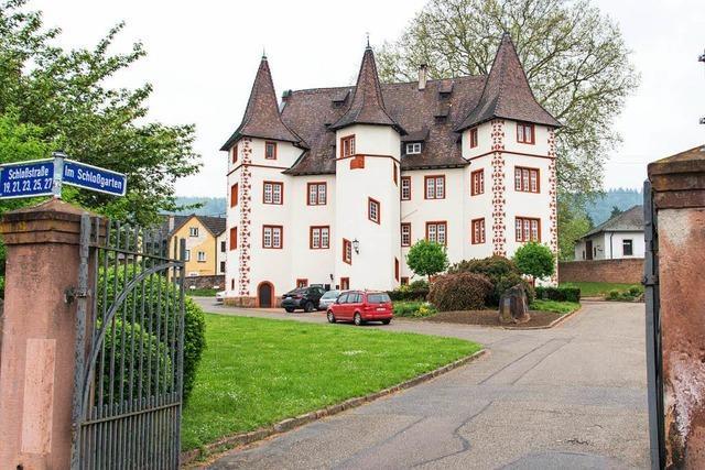 Die Durchfahrt zum Schmieheimer Schloss bleibt offen