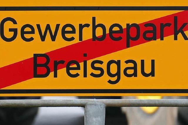 Hartheim blockiert lange geplante Erweiterung des Gewerbeparks Breisgau