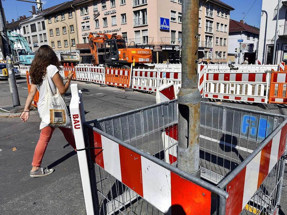 Freiburg Baustellen