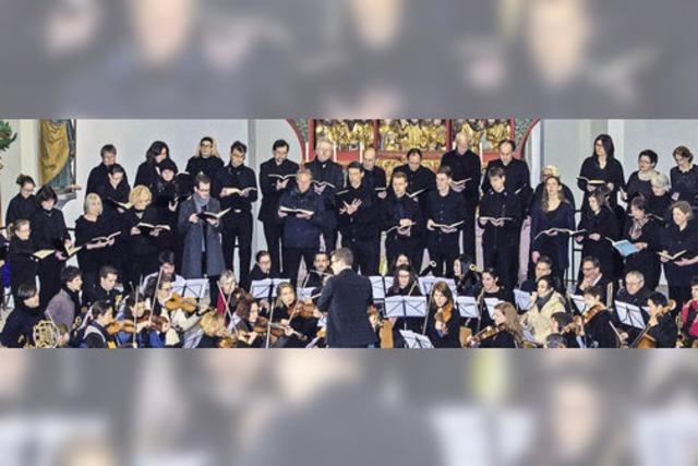 Die Cappella Nova Freiburg interpretiert Händels Oratorium