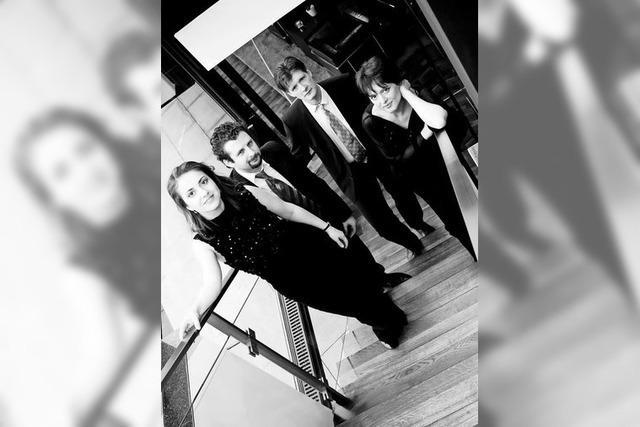 Das Gringolts Quartett aus Zürich kommt in die Alte Kirche Fautenbach