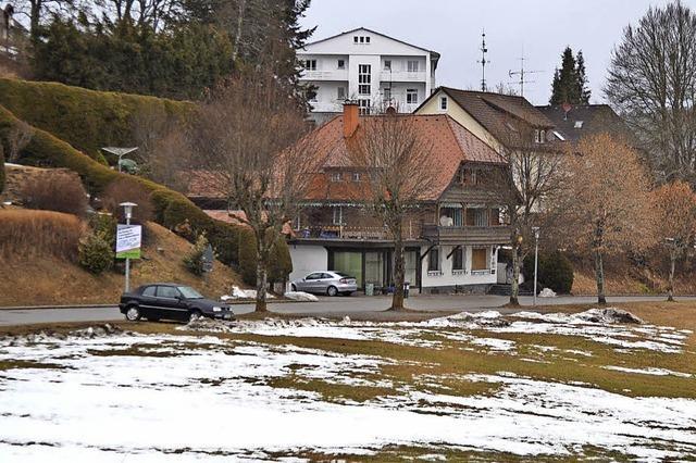 Privathäuser und neue Wohnblocks