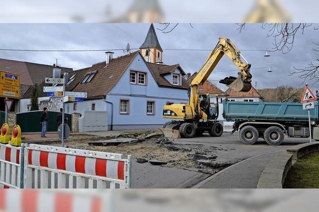 Sanierung der Sasbacher Ortsmitte geht weiter