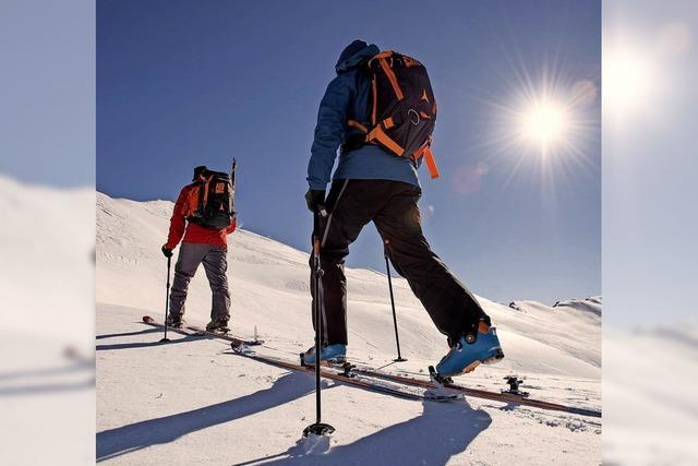 Tipps für Touren im Schnee