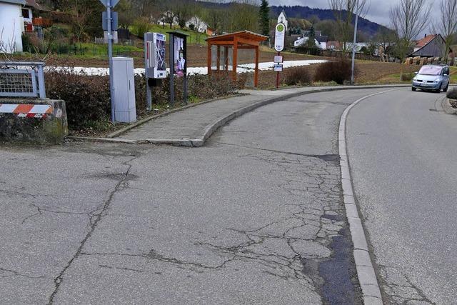 Straßensanierung in Au kostet 130 000 Euro