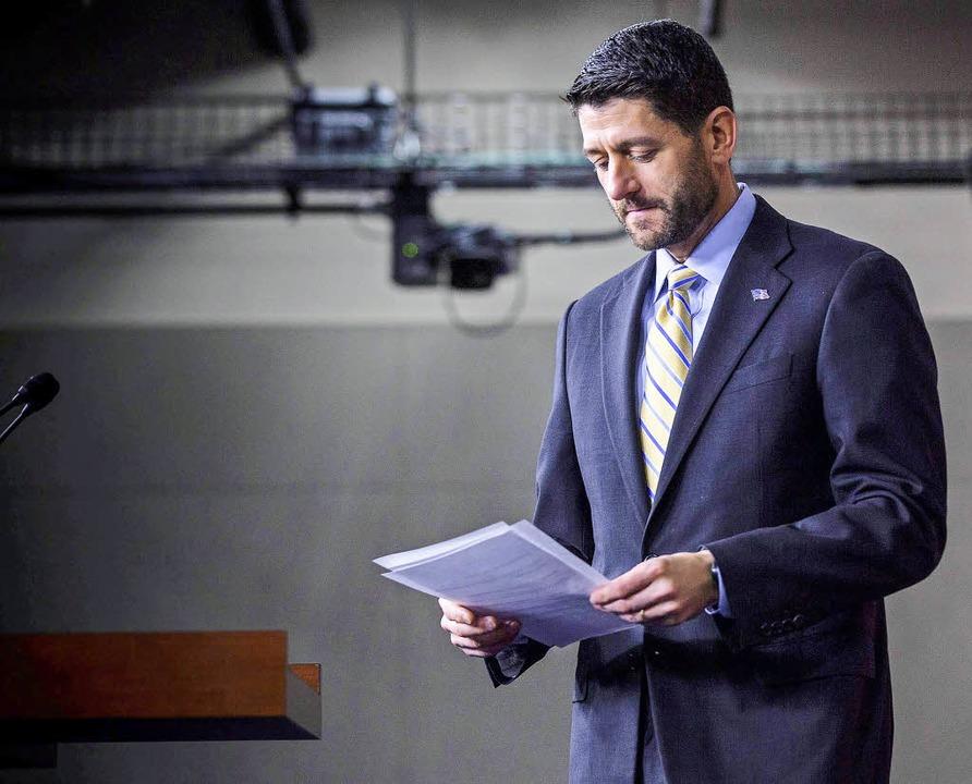 Dieser Mann will die globalisierte Öko...publikanischen Politiker im Jahr 2015.  | Foto: dpa
