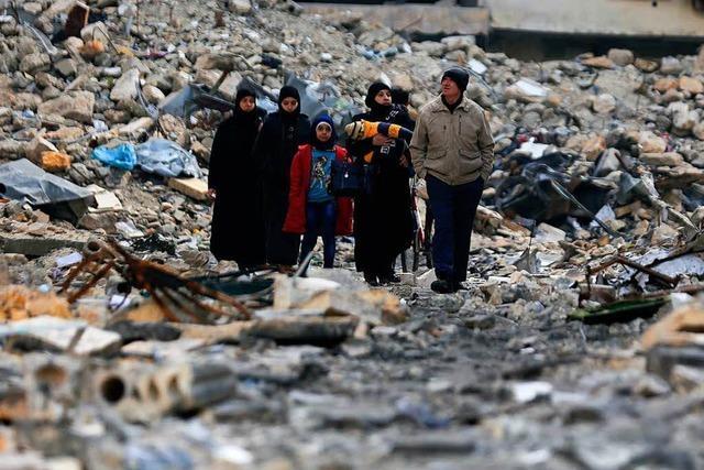 UN-Aufsicht: Syriens Regime und Opposition wollen verhandeln
