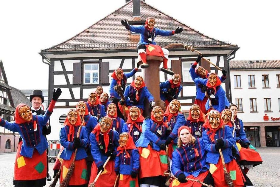 Die Gundelfinger Dorfhexen (Foto: Jonas Hirt)