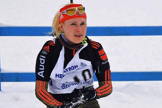 Ersatzfrau Janina Hettich wird Sechste bei der Junioren-Weltmeisterschaft im Biathlon in der Slowakei