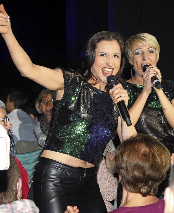 Voller Energie: Anita und Alexandra Hofmann  | Foto: Sparkasse Offenburg