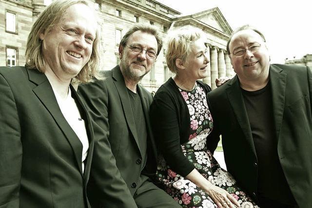 Ensemble Sounds of Change spielt Kammermusik im Orchestersaal der Städtischen Musikschule
