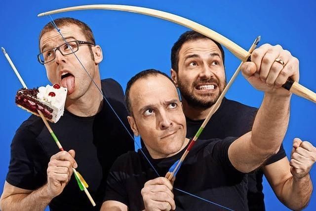 Comedy-Trio mit der neuen Show