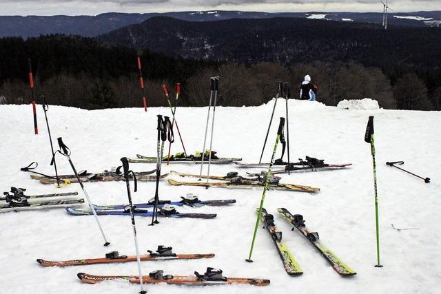 Jugendskitag des Landkreises auf dem Kandel