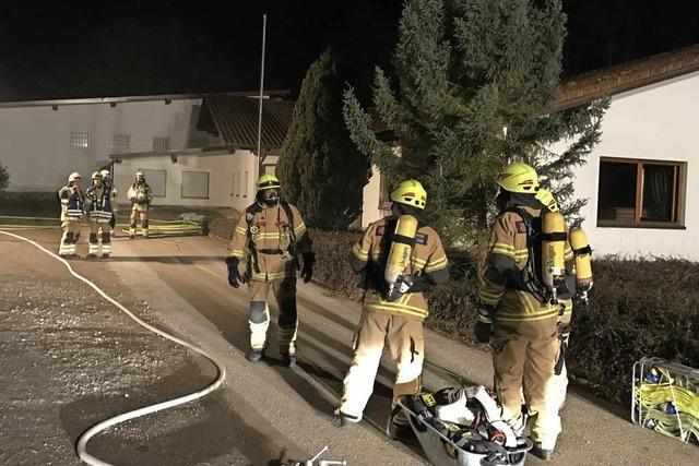 Einbruch und Brand im Heitersheimer Vereinsgebäude