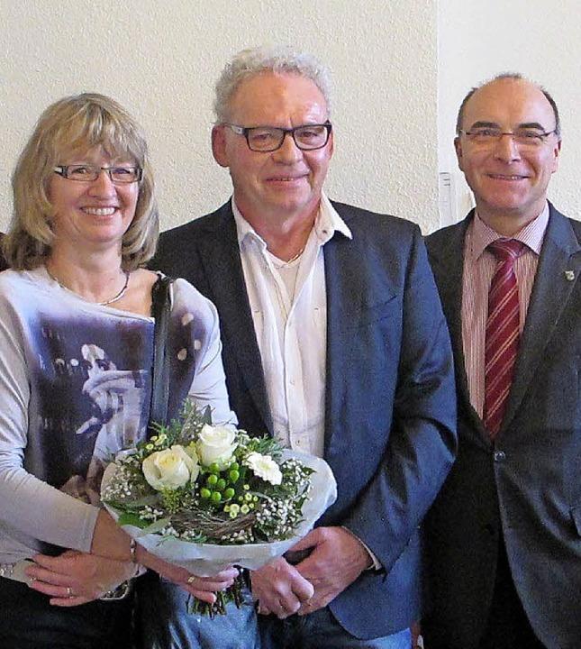 Gertrud Imhof, Rolf Imhof, Roland Tibi     Foto: Stadt Elzach
