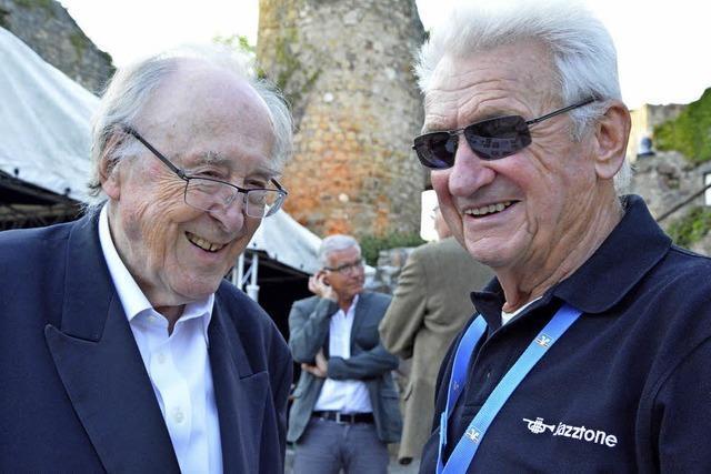 Der Lörracher Werner Büche wird 85