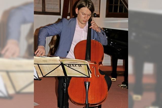 Das Cello hält einen Monolog