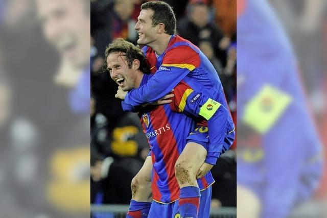 Der FC Basel gibt sich als FC Beben