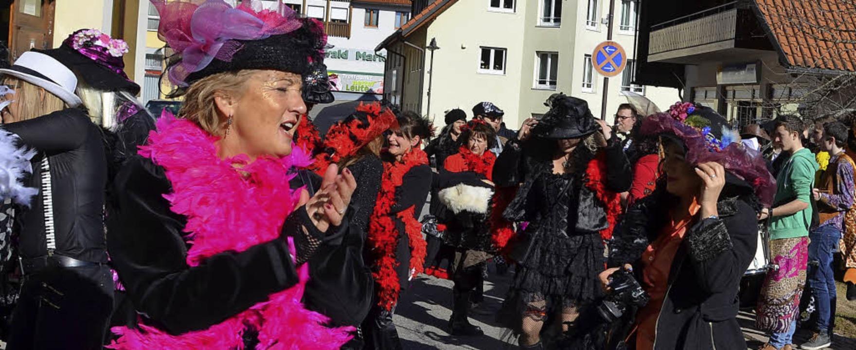 Wiiberfasnacht in Rickenbach  | Foto: CHRISTIANE SAHLI
