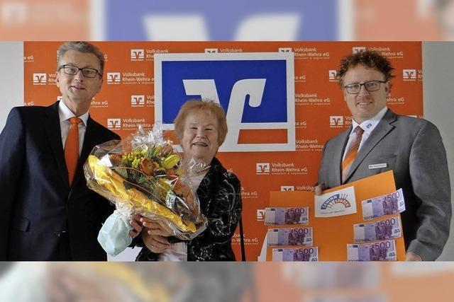Laufenburgerin spart mit Gewinn