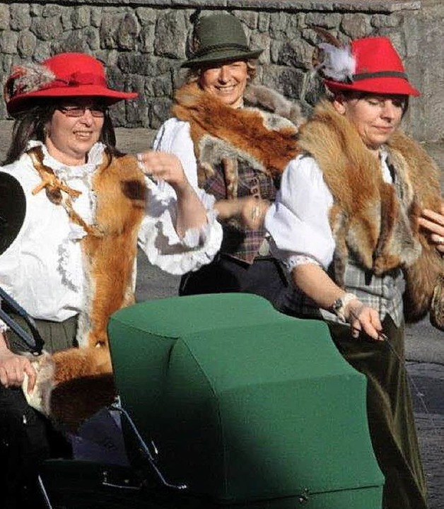 Die Jägerinnen aus Öflingen  | Foto: Jörn Kerckhoff
