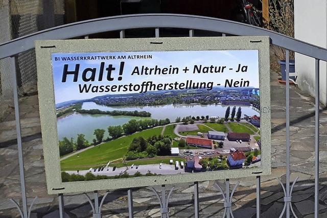 Schilder gegen Kraftwerk