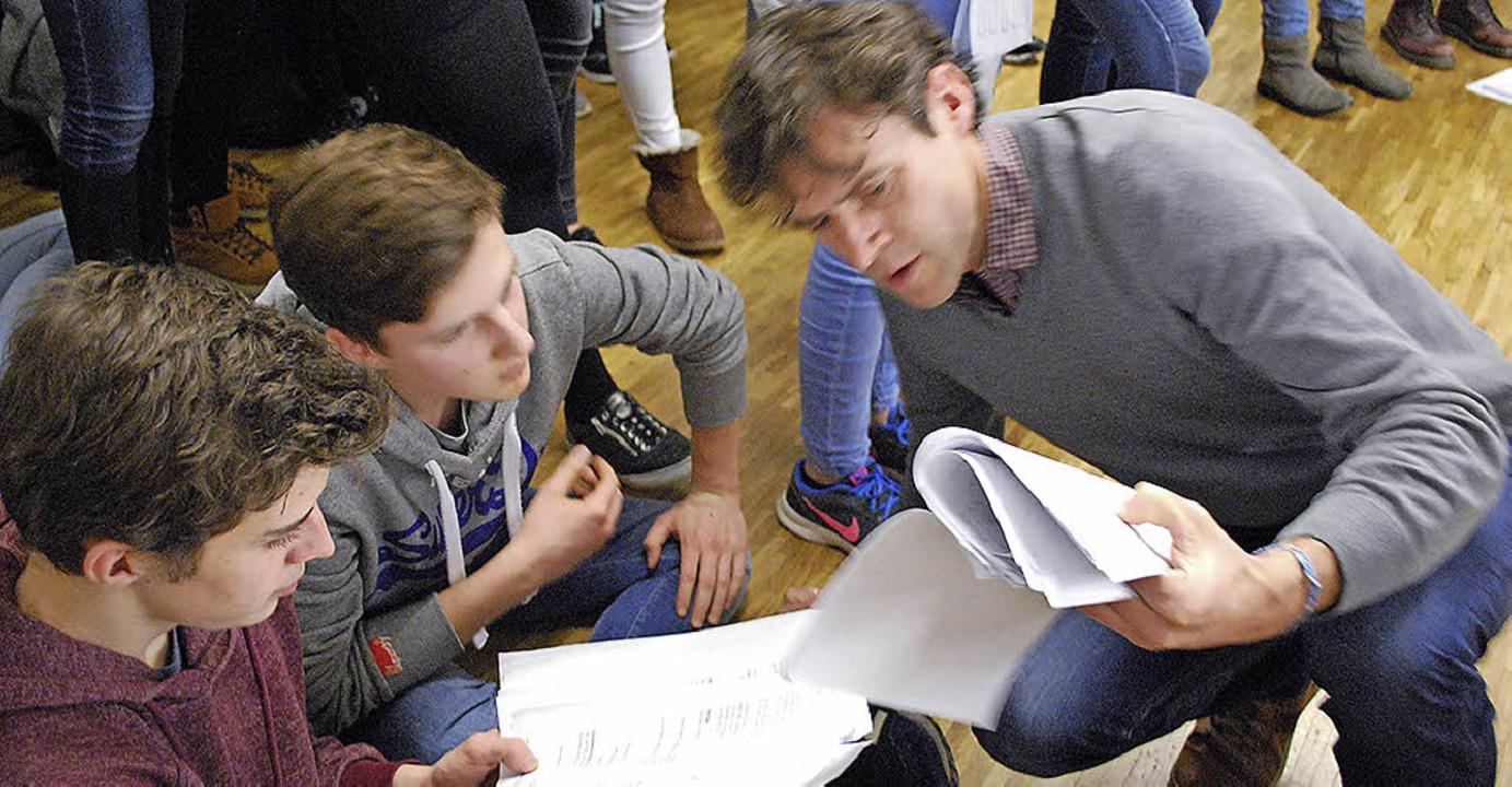 Stefan Gnädinger, Leiter der Theater-A... neue Idee, die gleich umgesetzt wird.  | Foto: Sylvia-Karina Jahn