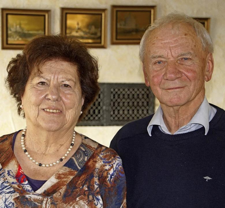 Seit 60 Jahren sind  Maria und Gebhard Weis verheiratet.    Foto: Hüge