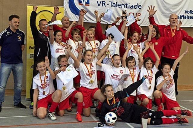 Südbadische Futsal-Meisterinnen
